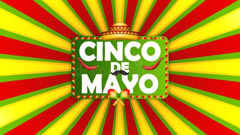 cinco de Mayo ilustracji