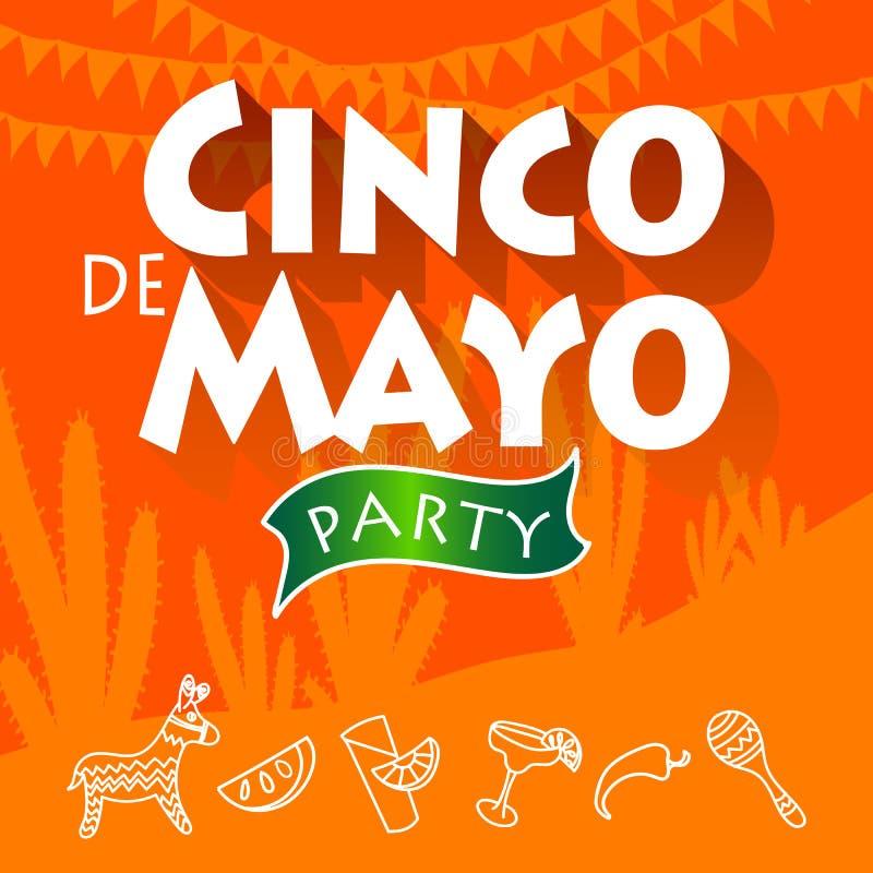 Cinco de Mayo przyjęcie