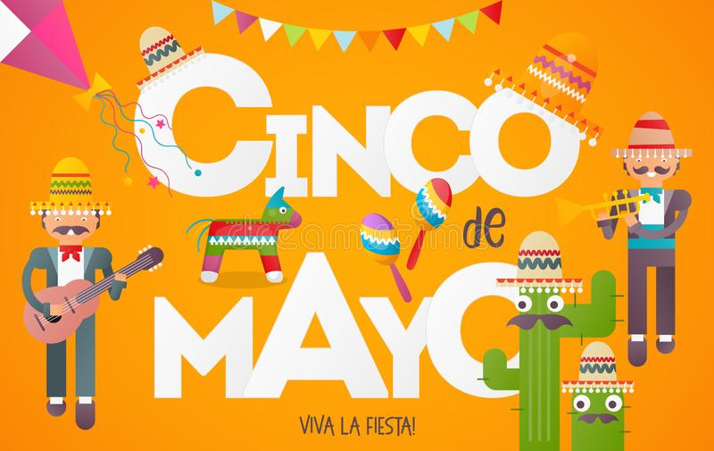 cinco de Mayo ilustracja wektor