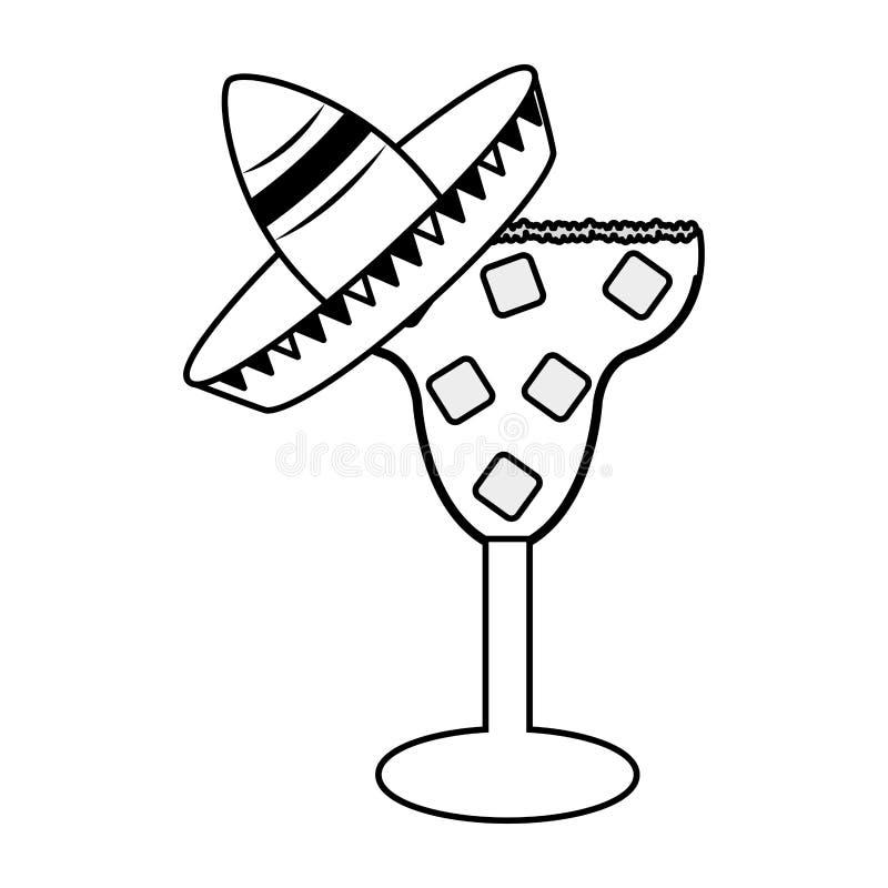 Cinco DE Mayo van Mexico royalty-vrije illustratie