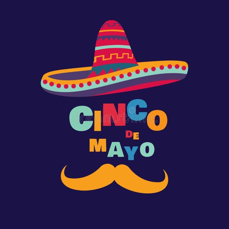 Cinco De Mayo lizenzfreie abbildung