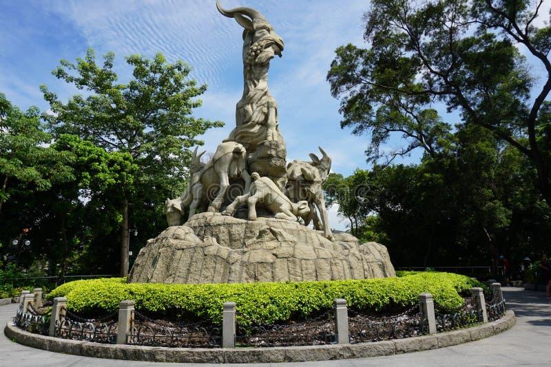Cinco Ram Statue fotos de archivo