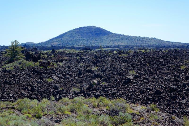 Cinder Butte, Krater van de Maan royalty-vrije stock foto