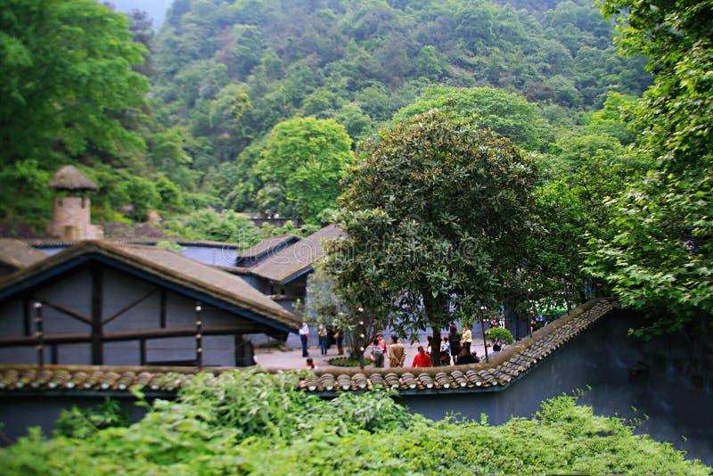 Cinder Cave à Chongqing image libre de droits