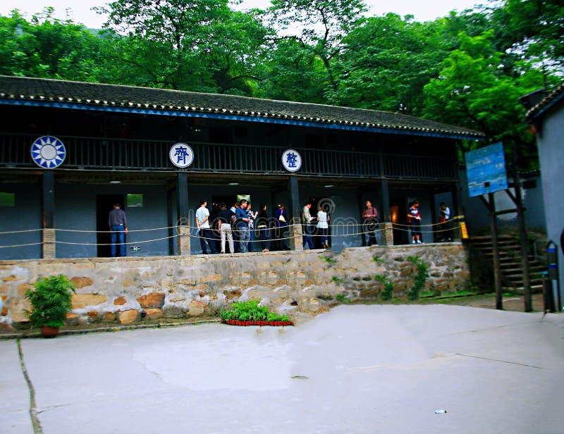 Cinder Cave em Chongqing imagens de stock