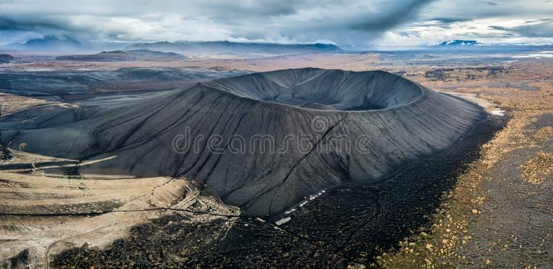 Cinder Cone volcanique géante photo stock