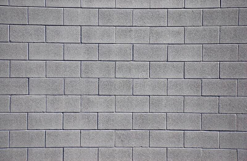 cinderblock干净的墙壁 向量例证