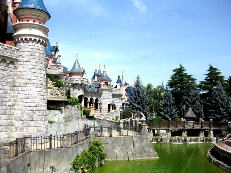 cinderella κάστρων στοκ φωτογραφία