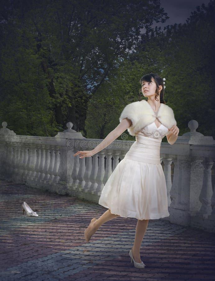 Cinderella stock afbeelding