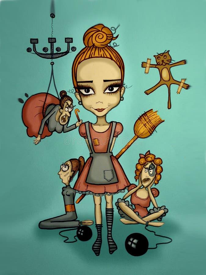Cinderella απεικόνιση αποθεμάτων