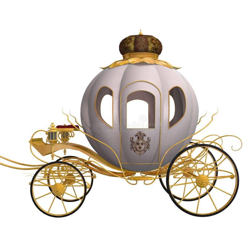 Cinderella Cariage vector illustratie