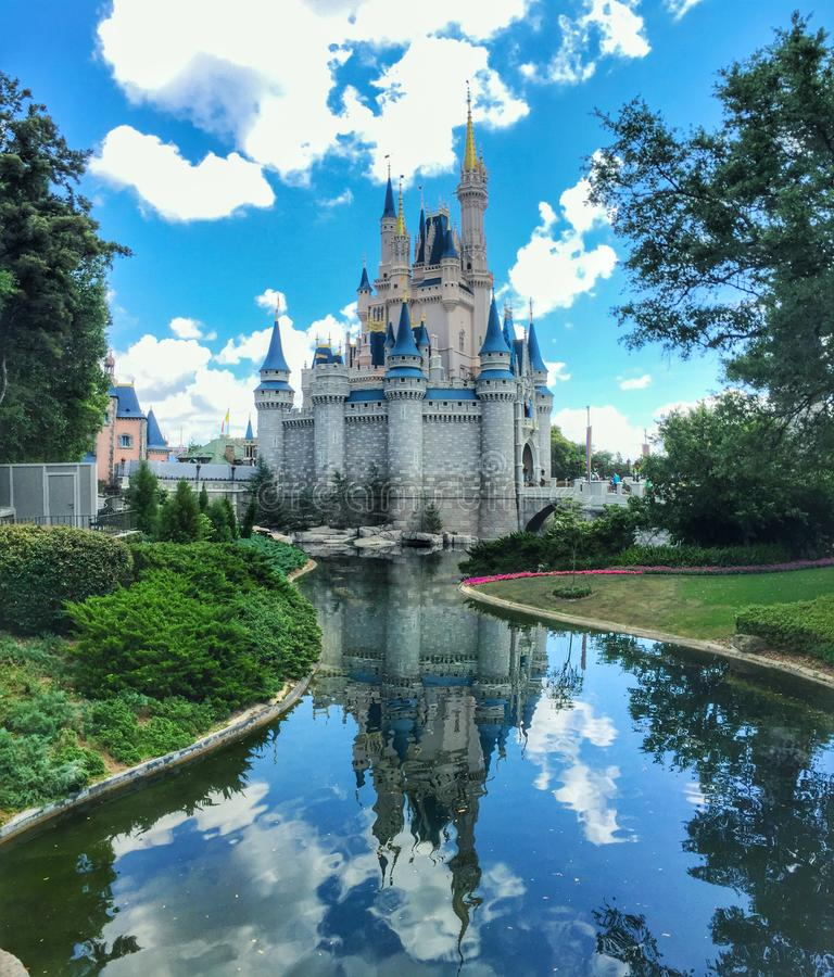 Cinderella Castle image stock