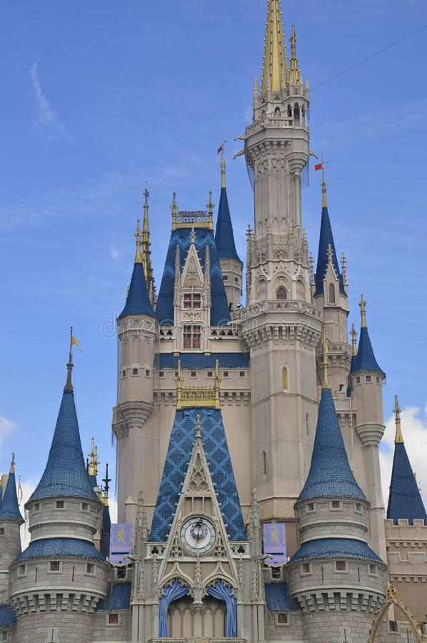 Cinderella Castle au parc magique de royaume, Walt Disney World Resort Orlando, la Floride, Etats-Unis photos stock