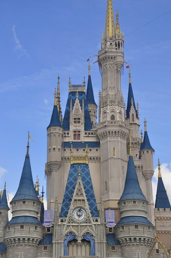 Cinderella Castle bij Magisch Koninkrijkspark, Walt Disney World Resort Orlando, Florida, de V.S. stock foto's