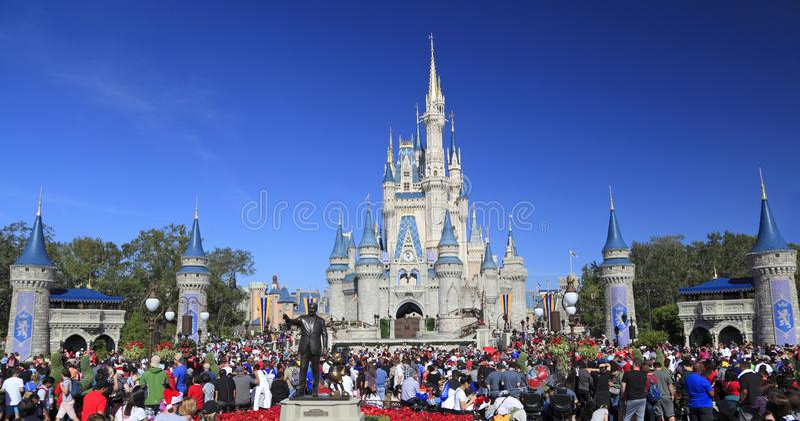 Cinderella Castle dans le royaume magique, Disney, Orlando, la Floride photos stock