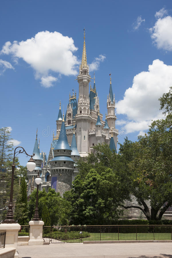 Cinderella Castle Walt Disney World royalty-vrije stock fotografie