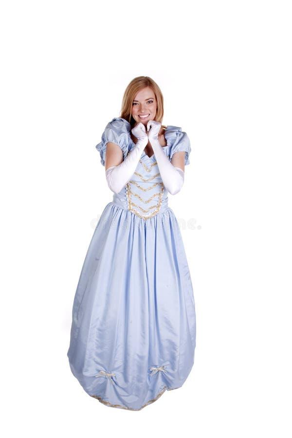 Cinderella Excited imagem de stock