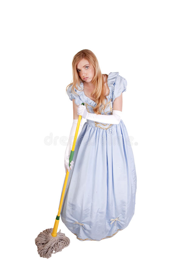 Cinderella mop stock photo