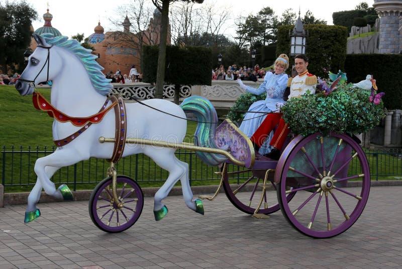 Cinderella och charma för pris royaltyfri foto