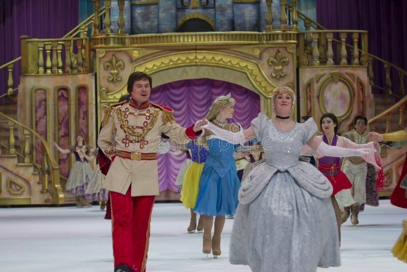 Cinderella och Princesses arkivbilder
