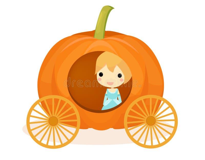 Cinderella Pumpkin royalty-vrije stock afbeelding
