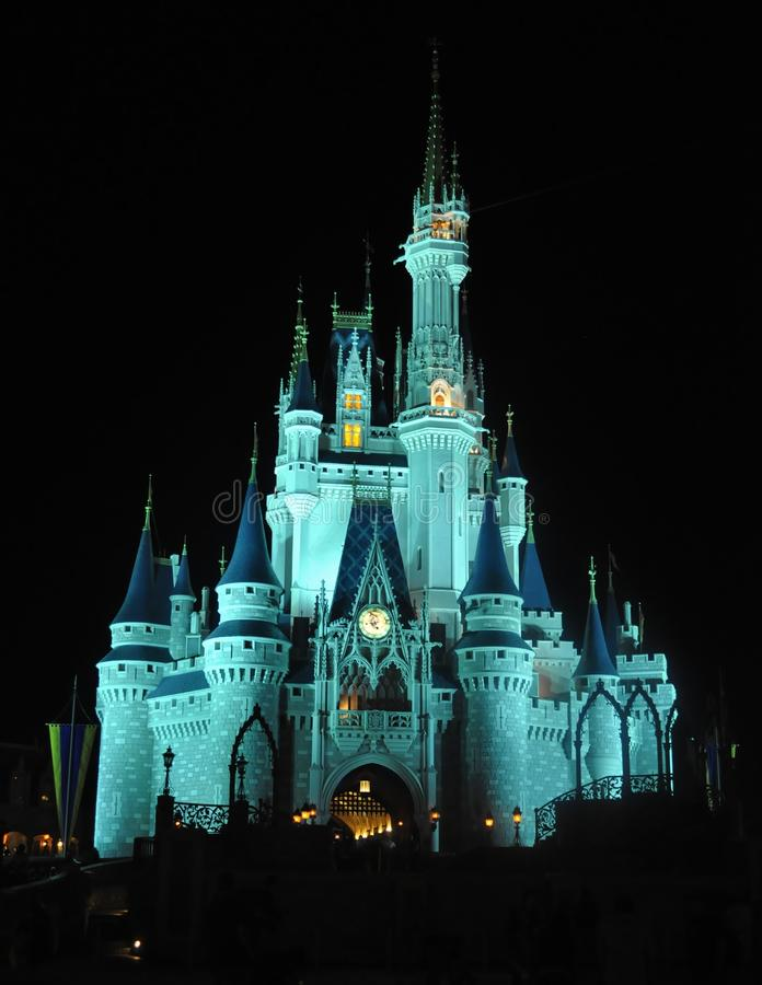 Download Cinderella's Castle At Night Editorial Image - Image: 23619065
