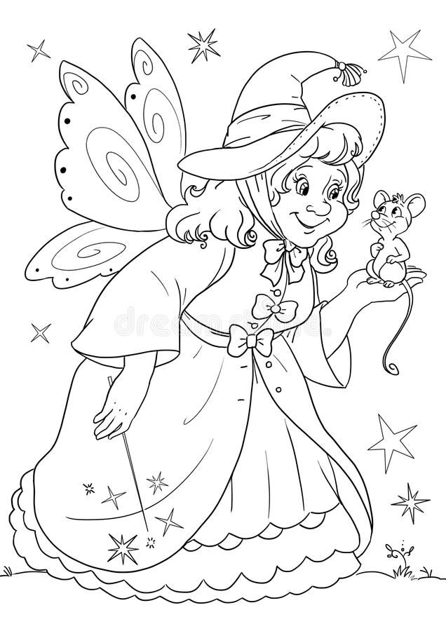 Cinderella Coloring Pages (2) | Disneyclips.com | 900x636