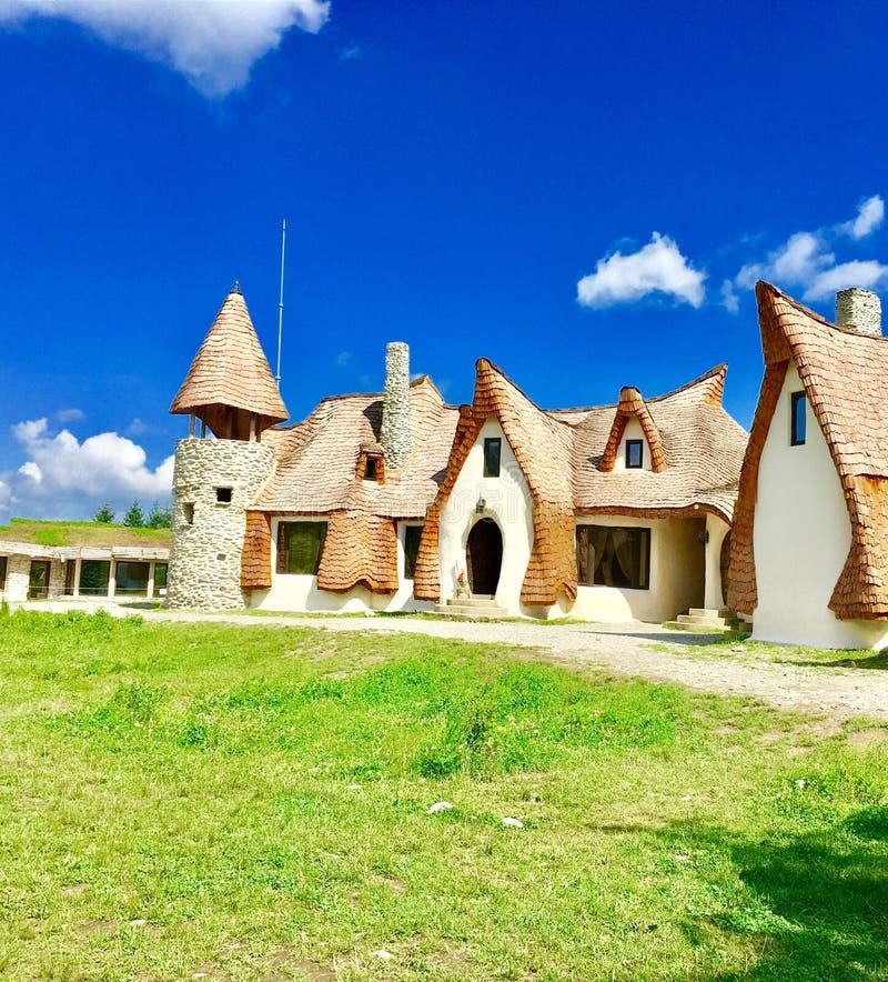 Cinderella& x27;s house! stock photo