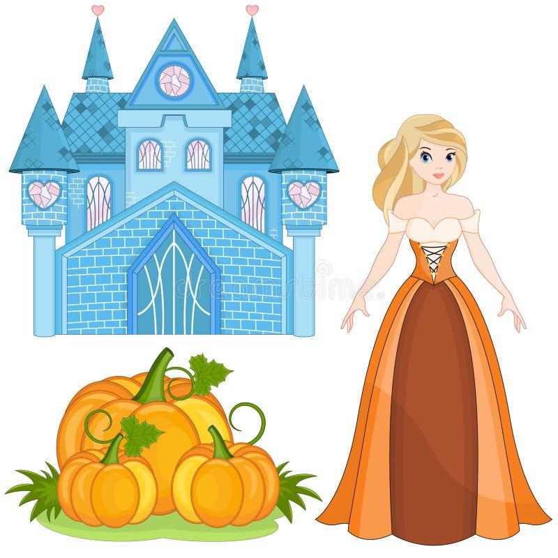 Cinderella Set vector illustratie