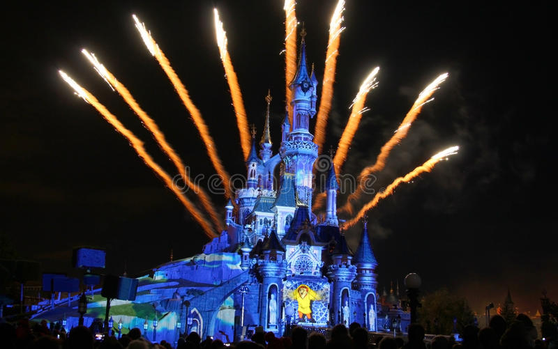 Cinderella slott arkivfoto