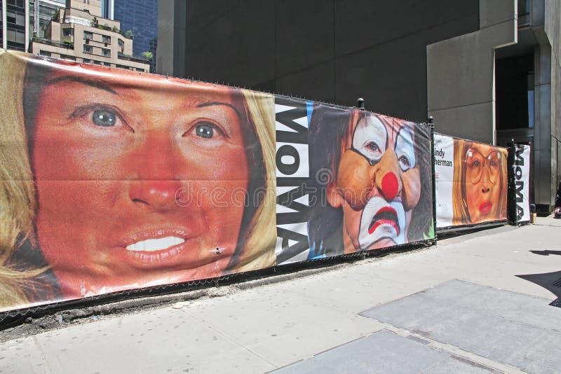Cindy Sherman al MoMA fotografie stock