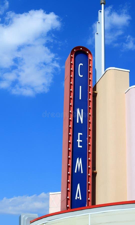 Cine foto de archivo libre de regalías