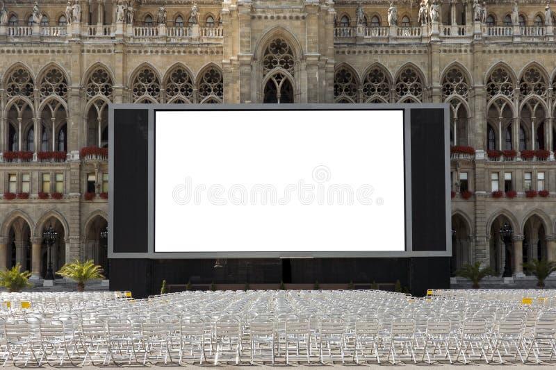 Cine Al Aire Libre Imágenes de archivo libres de regalías