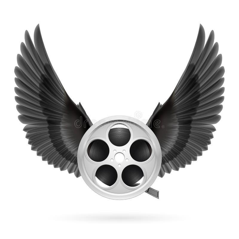 Download Cine inspirado ilustración del vector. Ilustración de icono - 41906558