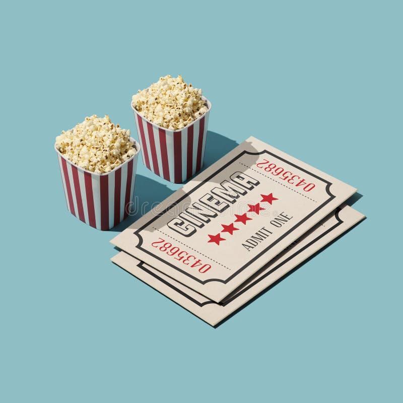 Cine y entretenimiento ilustración del vector