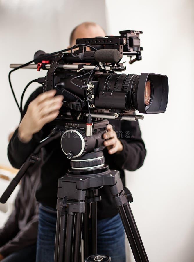 Cineasta fotografia stock libera da diritti