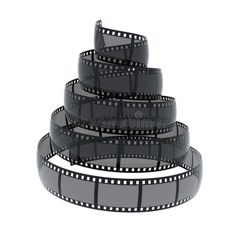 Download Cinefilm Spiral Stock Photography - Image: 6121582
