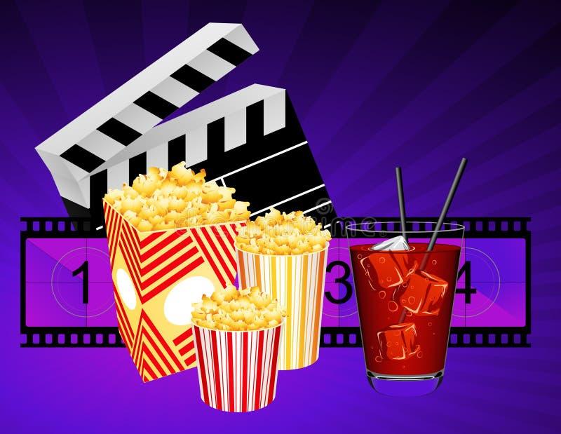Cinema ilustração stock