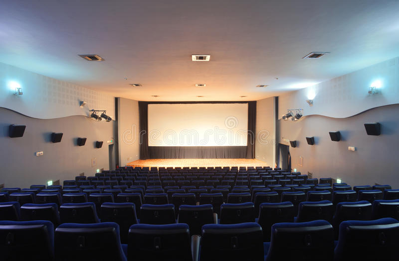 Download Cinema stock photo. Image of canvas, indoor, nobody, perspective - 22029916