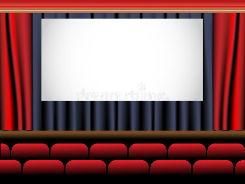 Download Cinema stock vector. Illustration of horizontal, backdrop - 25541955