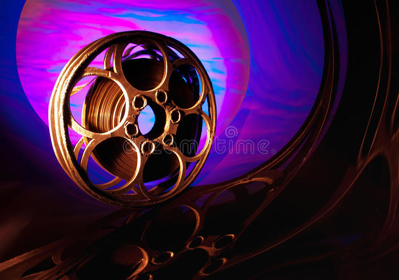 Download Cinema stock image. Image of spool, bright, obsolete - 29311985