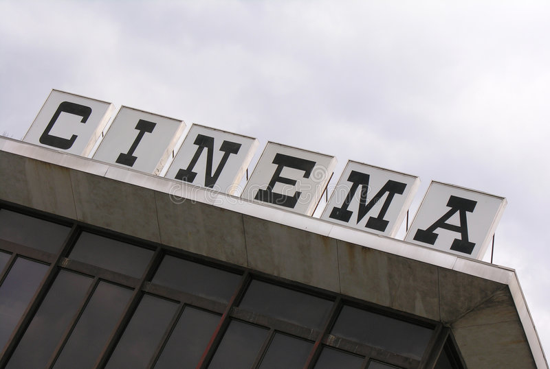 Download Cinema stock photo. Image of letters, sign, office, stub - 505714