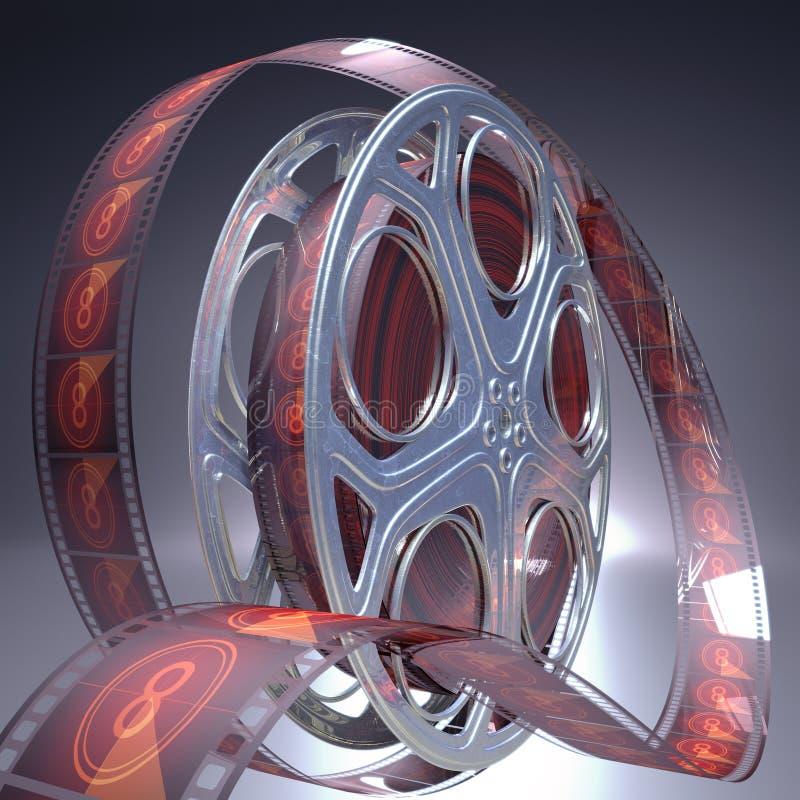 Download Cinema 8 stock illustration. Illustration of roll, hollywood - 27321437