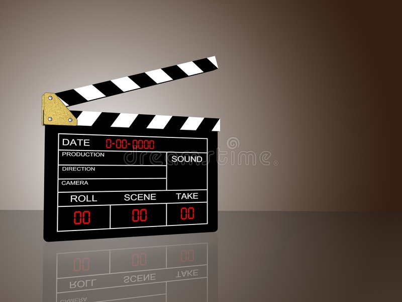 Download Cinema stock illustration. Illustration of film, maker - 8590475