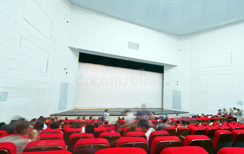 Download Cinema and the audience stock photo. Image of seat, audience - 20745788