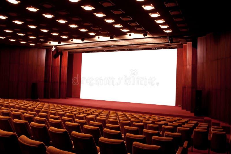 Cinema auditorium stock images