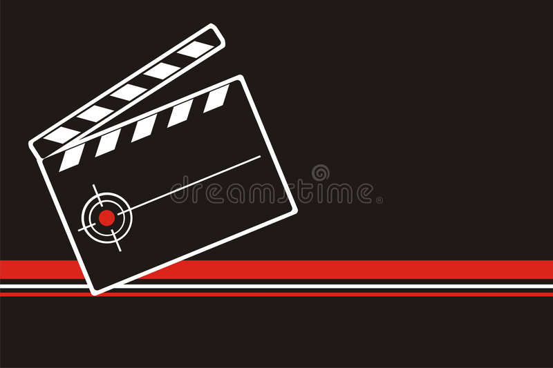 Download Cinema backgrownd stock vector. Image of scene, shooting - 7695904