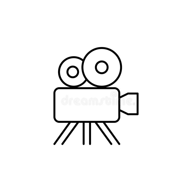 cinema camera icon. Element of web icon for mobile concept and w vector illustration