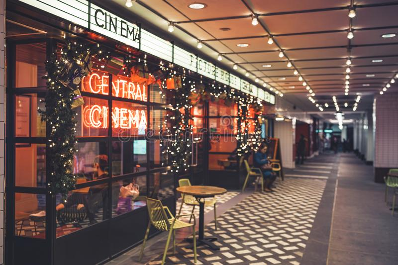 Cinema centrale di Picturehouse, in Piccadilly, Londra, Regno Unito, Inghilterra, Regno Unito, Europa immagini stock libere da diritti