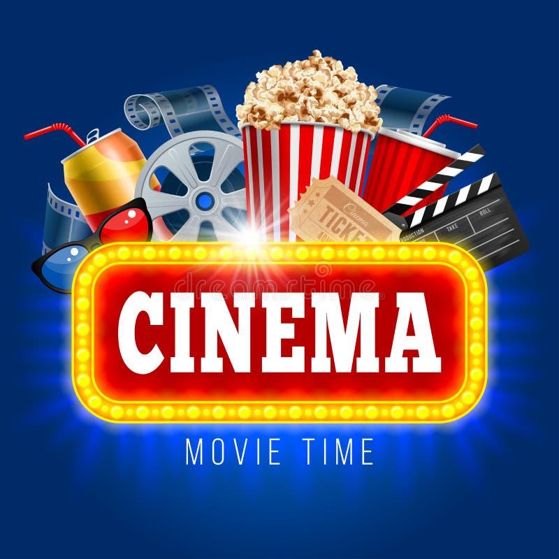 Cinema royalty free illustration